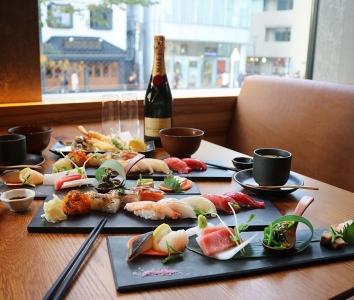 東京渋谷「KINKA sushi bar izakaya」