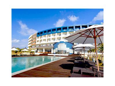 沖縄のリゾート地、久米島にあるラグジュアリーホテル。