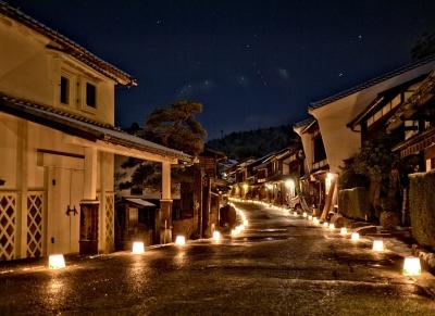 まるで江戸時代にタイムスリップしたかのような街並み