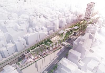"""渋谷の新たな""""コミュニティーの場""""が、2020年6月に誕生予定!渋谷の再開発プロジェクトの一環です◎"""