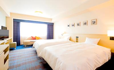 「お客様に気軽な別荘としてご利用いただきたい」という考えのもと、さまざまなタイプのお部屋をご用意。