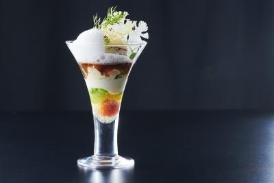野菜ソムリエプロの資格を持つシェフが考案するメニューは独創的。あなたの発想力も刺激されるはず