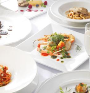 旬の食材を使ったイタリアンの数々をご用意。