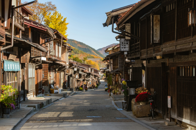 日本最長の宿場町「奈良井宿」にプレミアムなレストランがオープンします!立ち上げから携わりませんか?