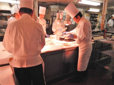 料理を基礎からお伝えする環境が整っています。