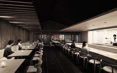 鉄板焼きメインのレストランがオープン予定の『ONSEN RYOKAN YUEN SHINJUKU』