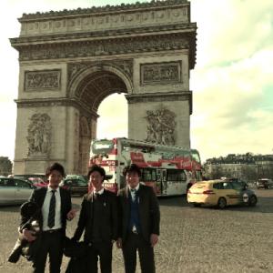 社員旅行 フランス