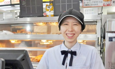 長野・松本市内のファーストフード店で、未来の店長を募集◎