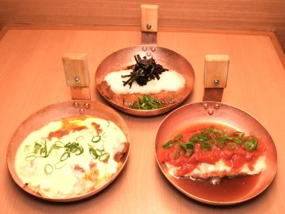 「おろしかつ丼」「かつ玉チーズかつ丼」「トマトかつ丼」など変わりかつ丼・親子丼は30種類以上!