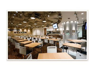 日本橋室町の商業施設内にオープンする新店でご活躍ください!(画像は既存店のものです)