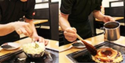 豊富な具材を使った、おいしいお好み焼きの焼き方を伝授します!