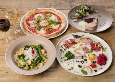 地元野菜をふんだんに使ったイタリアンダイニングで、将来の料理長をめざしませんか。