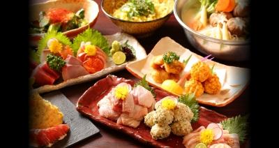 こだわり抜いた新鮮な魚や肉に手を加えた上質な逸品の数々が堪能できるお店。