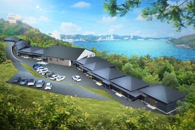 新館は2019年5月オープンします。鳥羽の絶景を楽しみながら仕事ができます