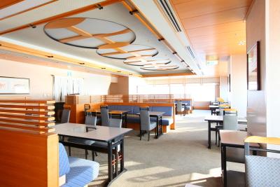 ホテルの上層階の日本料理店での勤務!