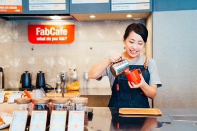 「ものづくり×CAFE」がコンセプトの新感覚のカフェ♪