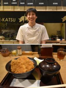 運営責任者の吉田です。当店自慢のタレカツ丼を多くの方に提供していきましょう!