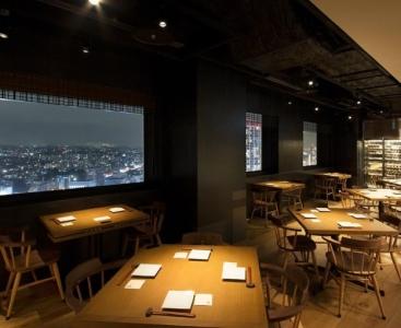 横浜の絶景☆店内はお洒落なデザイナーズ空間です!