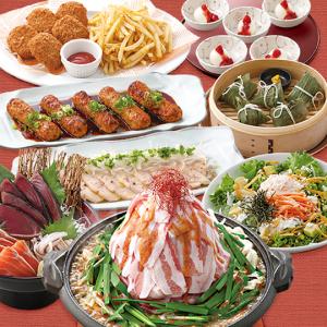 お刺身からデザートまで、多彩な料理が魅力のコースです!