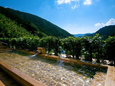 奥湯河原の美しい渓谷に佇む、老舗旅館です