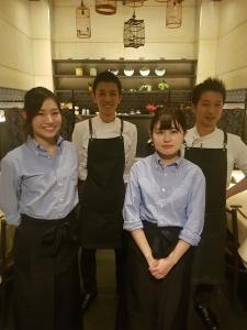 2017年9月にオープンしたシンガポール料理店。
