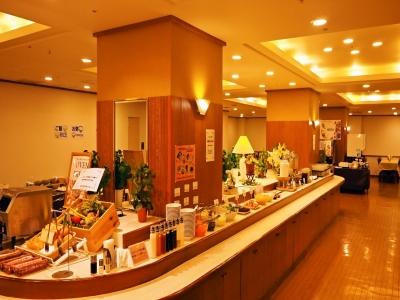 ホテル内には北海道のご当地メニューを楽しめるレストランも。