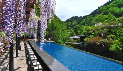 吉奈の山々から流れ出る山水を湛えた美しい景色に囲まれたレストランで活躍しませんか?