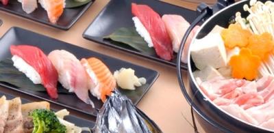 お寿司やさんのような、本格的なお寿司もご提供。