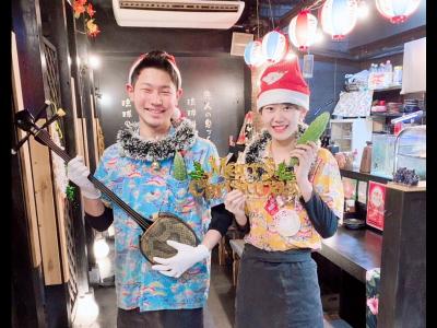 <未経験OK>沖縄料理を提供する気軽な雰囲気の居酒屋で、楽しく働きませんか?若手スタッフ活躍中♪
