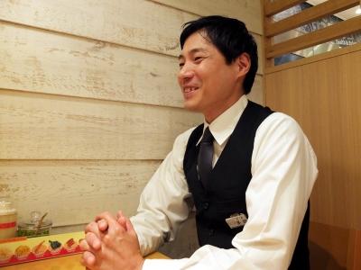 40歳を超えてからの転職を果たした多⽥店長。人の縁を大事にして、「KYKでの役割を見つけました」