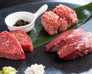 A5ランクの品質に徹底的にこだわったお肉を使用