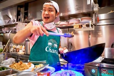 タイの食材を使い、調理法や味付けも本場と同じなのがこだわりです!