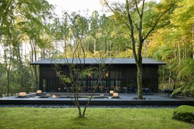 中心部の喧騒から離れた美しい森の庭に、「アマン京都」が誕生します!