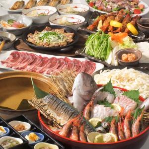 地元青森で採れた旬のお野菜に、高級食材「シャモロック」など、東北の旬の食材を地酒と一緒に楽しむ◎