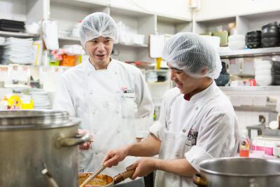「株式会社コーフク」の各店舗にて、調理全般をお願いします