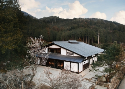江戸時代の古民家を改修したスモール・ラグジュアリーホテル