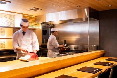 銀座にある日本料理店で、調理スタッフ(大将候補)を募集します。