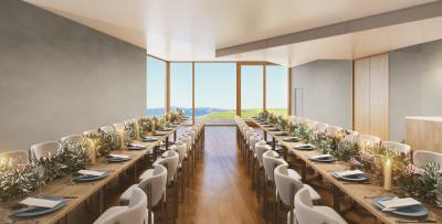 2020年7月にオープンするホテル内のレストランで、ホールスタッフ募集!