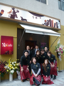 株式会社ジェイプロジェクト(東証マザーズ上場) 『猿Cafe』