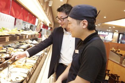 関西・中部に展開する「ザめしや」「街かど屋」で、店長候補として活躍しませんか?