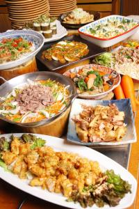 旬の食材を使った自然食ビュッフェレストラン!手づくりにこだわったお料理をご提供!