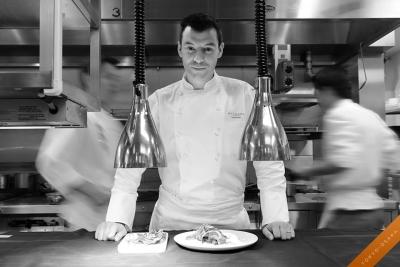 総料理長ルカ・ファンティンは、ローマの三ツ星レストランを経て2009年当店の総料理長に就任