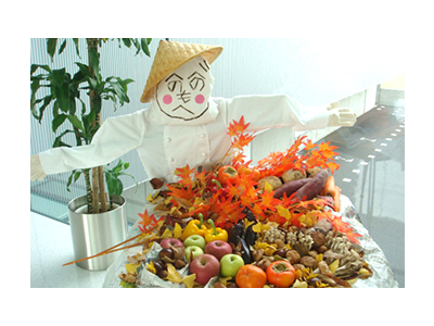 四季折々の食材を用いてイベントやフェアを行っています。