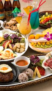 トロピカルなハワイ料理や、ワインと一緒に楽しむスパニッシュの調理をお願いいします!