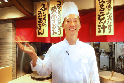 とんかつ業態や、和食業態での調理経験がある方は、優遇!