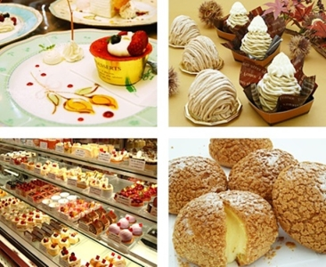 パティシエと共同してイタリアンスイーツを提供したり、カフェ利用がメインの店舗もあります。