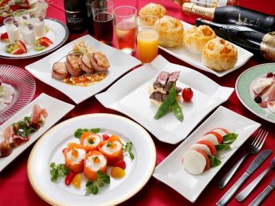 国内トップクラスのチェーンホテル直営。和洋こだわりの料理をビュッフェ形式で楽しめるレストラン