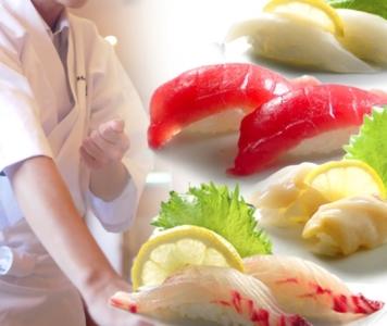 魚卸業者が運営する寿司のテイクアウトショップで、将来の店長をめざしませんか。