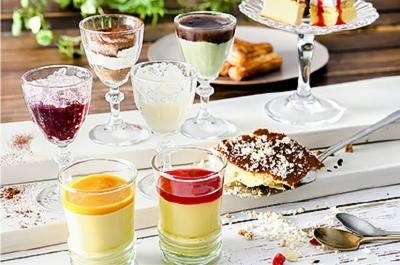 メイン料理からデザート、ソフトドリンク、アルコールなど多彩なメニューをご提供