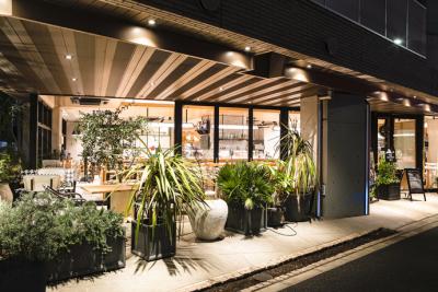 2016年のオープン以来、地域に根づき、地元の方々に愛されるカフェダイニングです。
